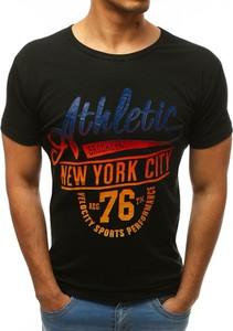 T-shirt Dstreet z nadrukiem w młodzieżowym stylu z bawełny