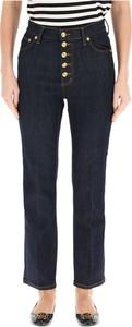 Niebieskie jeansy Tory Burch w stylu casual