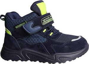 Granatowe buty dziecięce zimowe Sprandi Earth Gear