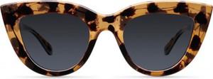 Czarne okulary damskie Meller