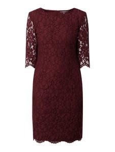 Sukienka Montego midi z bawełny z długim rękawem