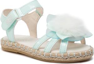 Buty dziecięce letnie UGG Australia na rzepy