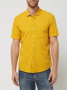 Żółta koszula S.Oliver w stylu casual z krótkim rękawem