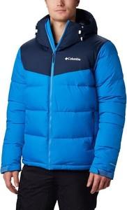 Niebieska kurtka Columbia w stylu casual