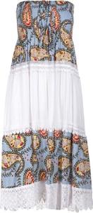 Sukienka Multu z okrągłym dekoltem dla puszystych mini