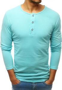 Koszulka z długim rękawem Dstreet z bawełny w stylu casual z długim rękawem