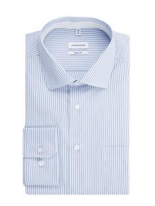 Koszula Seidensticker Regular Fit z długim rękawem z bawełny