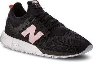 Czarne buty sportowe New Balance z płaską podeszwą