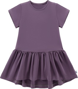 1f146223c8 Fioletowa sukienka dziewczęca Tuszyte