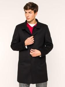 Czarny płaszcz męski Strellson