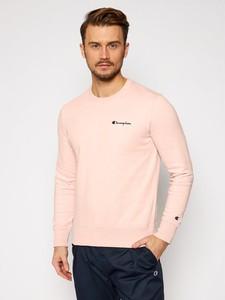 Różowa bluza Champion w stylu casual