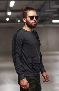 Czarna bluza Duuf