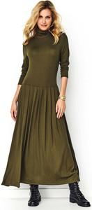 Sukienka Makadamia w stylu casual maxi z długim rękawem