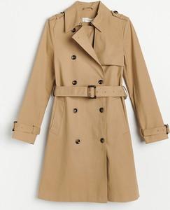 Płaszcz Reserved z bawełny
