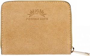 Złoty portfel VITTORIA GOTTI