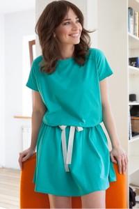 Sukienka butik-choice.pl w stylu casual mini z bawełny