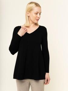 Czarny sweter Weekend Max Mara w stylu casual