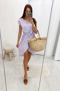 Sukienka Shopaholics Dream z krótkim rękawem mini