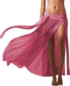 Różowa spódnica Snm z tiulu