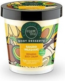 Organic Shop, Body Desserts, krem do ciała regeneracyjny, Banana Milkshake, 450 ml
