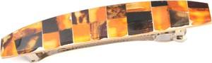 Ambertic Spinka do włosów z bursztynową mozaiką