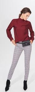 Czerwona bluzka Mohito w stylu casual