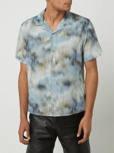 Koszula The Kooples z krótkim rękawem z jedwabiu w młodzieżowym stylu