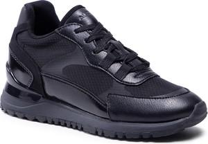 Czarne buty sportowe Aldo