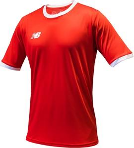 T-shirt New Balance w sportowym stylu z krótkim rękawem
