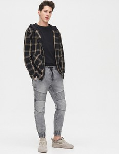 Jeansy Cropp z jeansu