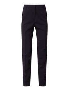Granatowe spodnie Esprit z bawełny