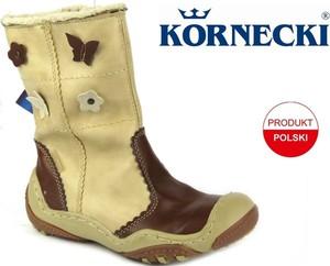 Buty dziecięce zimowe Kornecki na zamek