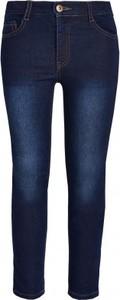 Granatowe jeansy dziecięce Endo z jeansu