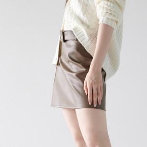Brązowa spódnica Sinsay w stylu casual