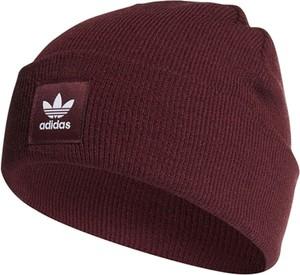 Czerwona czapka Adidas