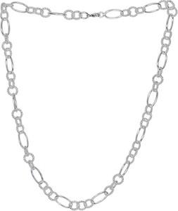 Monarti Naszyjnik srebrny koła