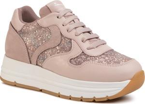 Sneakersy Voile Blanche sznurowane