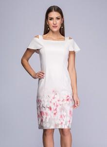 e767da482 sukienka pudrowy róż na wesele - stylowo i modnie z Allani