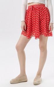 Czerwona spódnica born2be