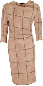 Sukienka Niren z długim rękawem midi