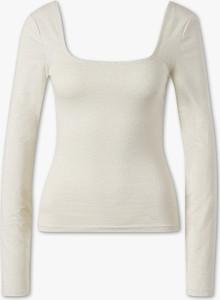 T-shirt CLOCKHOUSE z bawełny w stylu casual