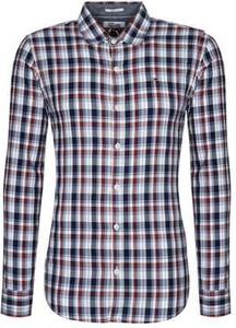 Koszula Tommy Hilfiger w stylu casual z bawełny z klasycznym kołnierzykiem