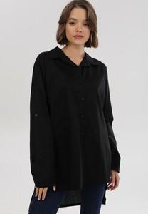 Czarna koszula born2be w stylu casual