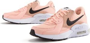 Buty sportowe Nike sznurowane ze skóry z płaską podeszwą