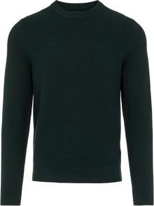 Zielony sweter J. Lindeberg z okrągłym dekoltem w stylu casual