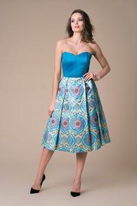 Sukienka NAT Fashion Room z tiulu gorsetowa