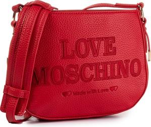 Czerwona torebka Love Moschino na ramię