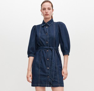 Sukienka Reserved w stylu casual z jeansu