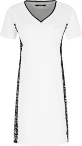 Sukienka Liu Jo Sport midi z dekoltem w kształcie litery v