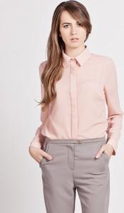 Różowa koszula Lanti z kołnierzykiem